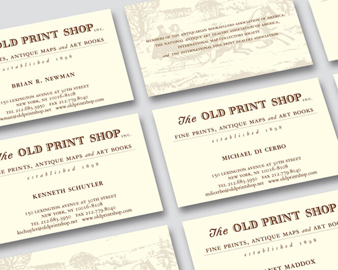 THE OLD PRINT SHOP